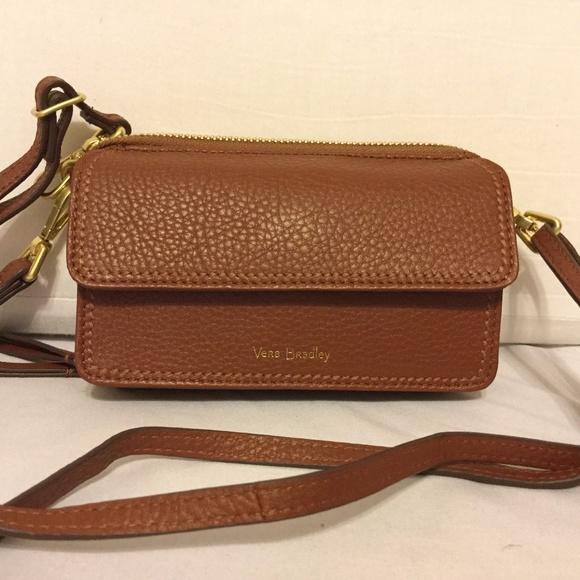 da30956b3 Vera Bradley Bags | All In One Crossbody Mesa Brown Nwt | Poshmark